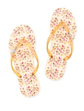 Quirky Printed Rubber Flip-Flops - Flipside