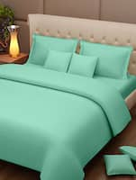 plain solid cotton bed sheet set -  online shopping for bed sheet sets