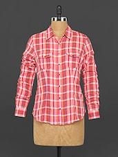 Long Sleeve Cotton Shirt - 22ND STREET