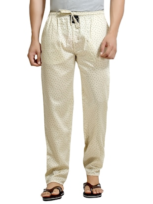 beige cotton pyjamas