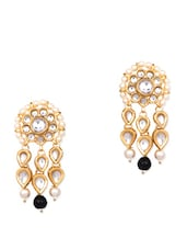 Golden Alloreey, Nickel Free,& Non Allergic Earring - By