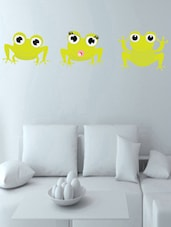 Creative Frog's Wall Sticker - Decor Kafe
