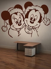 Mickey & Minnie Wall Sticker - Decor Kafe