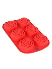 Rose Shaped Silicone Cake Mould - Seven Seas