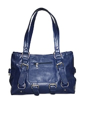 Plain Solid  Leatherette Handbag - Moda Desire