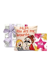 Dearest Mom Cushion with Card - GIFTS111067 -  online shopping for Home Accents