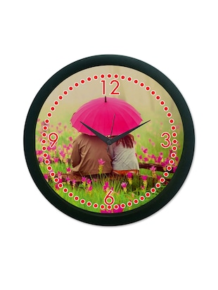 Luv Wall Clock (With Glass)