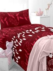 Leaf Printed Single Bedsheet Set - Home Ecstasy