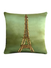 Sequined Eifel Tower Cushion Cover - Per Inch
