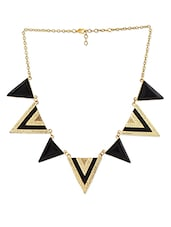 Seven Triangle Drop Necklace