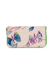Butterfly Print Wallet Cotton Sling - Allmine