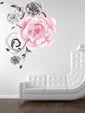 Abstract Flower Multi Color Wall Stickers - By