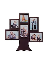 Brown Acrylic And Glass Photo Frame - By