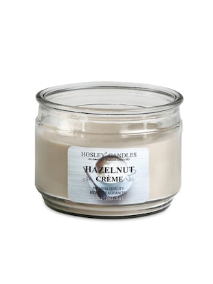 Hazelnut Crème Highly Scented jar Candle