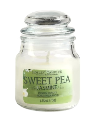 Sweet Pea Jasmine Essence Jar Candle