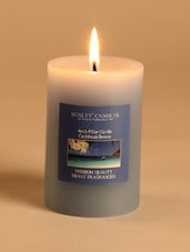 Caribbean Breeze  Scented  Pillar Candle - Hosley