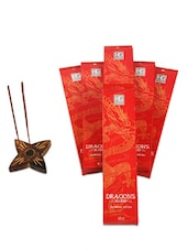 Pack Of 6 Dragon Blood Incense Sticks - Hosley