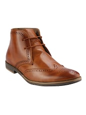 tan leatherette brouges -  online shopping for Brouges