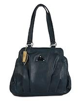 Blue Pleat Inspired Handbag - Spice Art