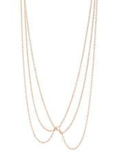 Gold Metal Alloy Necklace - Stylisda