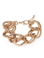 Golden Chains Entangled Bracelet - Fayon