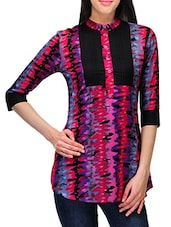 Abstract Printed Cotton Top - Stilestreet