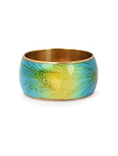 Multicolor Printed Metal Alloy &enamel Bangles - Jewel Paradise