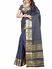 blue silk saree -  online shopping for Sarees
