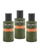 Trichup Hair Fall Control Herbal Hair Oil (200 Ml) (Pack Of 3) - By