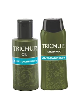 Trichup Anti-Dandruff Kit (Anti Dandruff Oil  (100ml), Anti Dandruff Shampoo (200ml))