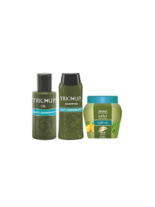 Trichup Scalp Nourishment Kit (Anti - Dandruff Oil (100ml), Anti - Dandruff Shampoo (200ml), Anti - Dandruff Cream (200ml))