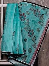 Floral Hand Painted SAREE - JBT