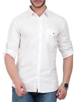 Bay Ridge Cotton Casual Shirt