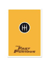 The Fast And The Furious Movie  Poster - Lab No. 4 - The Quotography Department