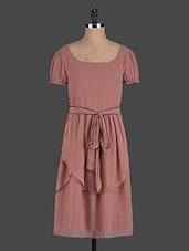 Brown Layered Dress - Eavan