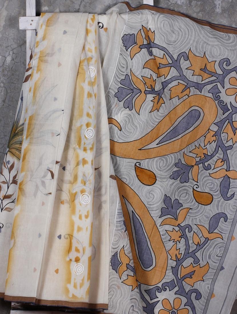 Cotton Hand Paint Everyday Saree - SURAVI
