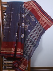 Hand Painted Brasso Net Saree - SURAVI