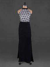 Halter Neck Maxi Dress - Xniva