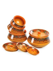 Geometric Print Handi Set With Lid - Cultural Concepts