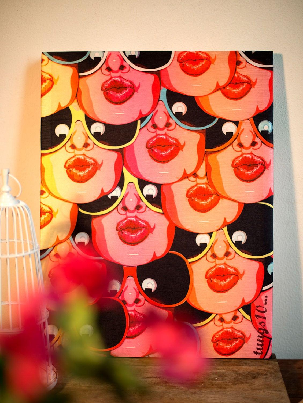 Pop Art Print Wall Art - TUNGS10
