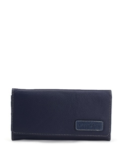 Dark Blue Wallet - L'amore