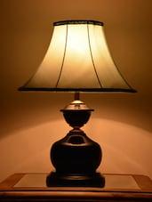 Blue Iron Table Lamp - Yashasvi