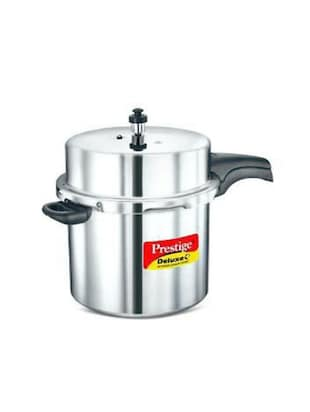 12  LTR Deluxe Plus Induction Base Aluminium Pressure Cooker -  online shopping for Pressure Cookers