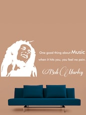 Bob Marley Quotes Vinyl Wall Sticker - Creative Width Design