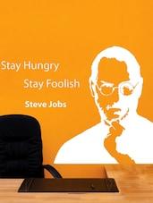 Steve Jobs Quotes Vinyl Wall Sticker - Creative Width Design