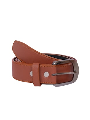 copper leatherette belt