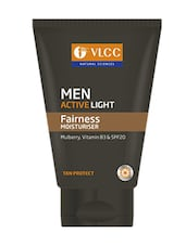 VLCC Men Active Light Fairness Moisturiser - 100 G - By