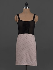 Sheer Sleeveless Polygeorgette Dress - Belle Fille