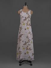 Printed Sleeveless Polygeorgette Dress - Belle Fille