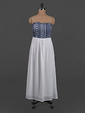 Printed Polygeorgette Dress - Belle Fille